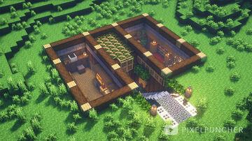 Underground Base Minecraft Map & Project