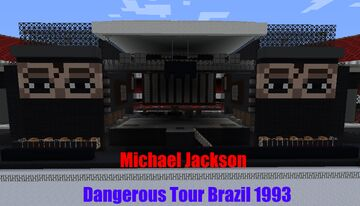 Dangerous World Tour Stage 1993// 1.16.3 Minecraft Map & Project