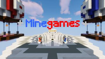 + Minegames + Minecraft Map & Project
