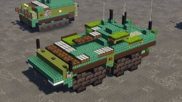 VPK-7829 Bumerang IFV (1.5-1 scale) Minecraft Map & Project