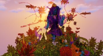 Alanna Ithil - A D'n'D Galactic Elf (Made as a Birthday Present :D) Minecraft Map & Project