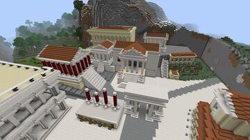 Roman forum Minecraft Map & Project