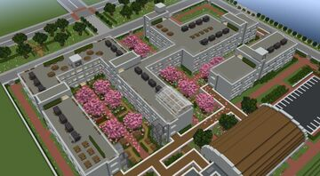 Kashikoi High School Minecraft Map & Project