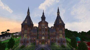 TCT Spawn Minecraft Map & Project