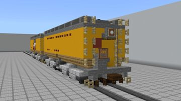 Union Pacific Auxiliary Water Tenders: Jim Adams and Joe Jordan Minecraft Map & Project