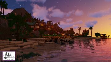 Buccaneer Bay, a new generation of pirates Minecraft Map & Project
