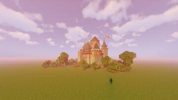 Bischöfliche Residenz Burg Warschitz Minecraft Map & Project
