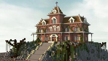 Haunted house create by Jar9 THX FOR 2K VIEW Minecraft Map & Project