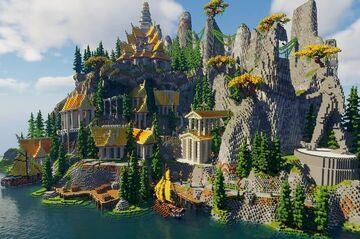 Golden Island Minecraft Map & Project