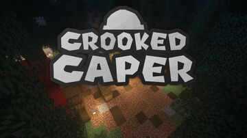 Crooked Caper | Multiplayer Heist Game Minecraft Map & Project