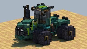 John Deere 9530, 4WD tractor [With Download] Minecraft Map & Project