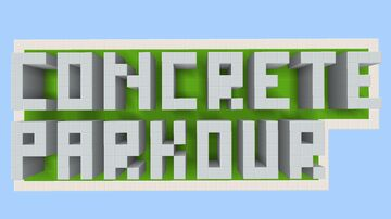 Concrete Parkour (Bedrock Edition) Minecraft Map & Project