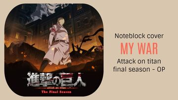 My War - Attack on Titan Final Season OP - Minecraft Note Block Cover Minecraft Map & Project