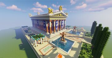 Greek Temple of Poseidon / Assassin's Creed Odyssey Minecraft Map & Project