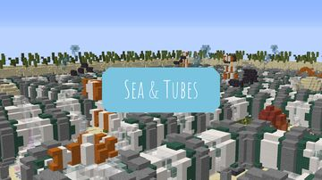 Sea & Tubes Minecraft Map & Project