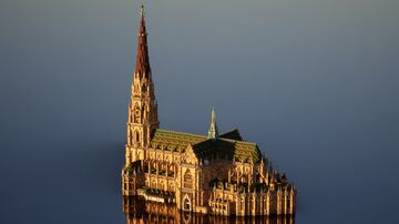 New Cathedral, Linz, Austria 1:1 Recreation Minecraft Map & Project