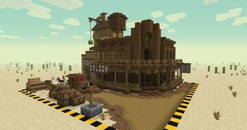 Old West Minecraft Map & Project