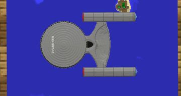 Star Trek - 'USS-Ishtar' Minecraft Map & Project