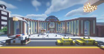 South Metropolitan Bus Terminal Minecraft Map & Project