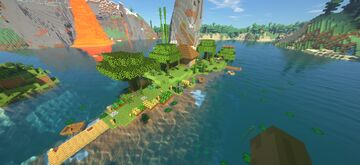 Gaia reworked // land of the rising sun Minecraft Map & Project