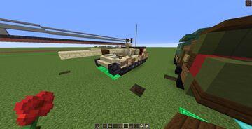 Type 96/ ZTZ-96 MBT (1.5:1) Minecraft Map & Project