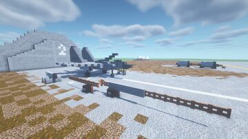 Soviet military airport Minecraft Map & Project