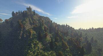 Autumn Landscape | By: DiamondIsIconic [Download] Minecraft Map & Project