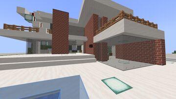 Beacon Shop + Base Interior Minecraft Map & Project