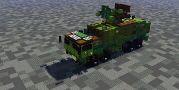 Flugabwehrraketensystem Roland auf Radkraftfahrzeug (FlaRakRad) (1.5-1 scale) Minecraft Map & Project