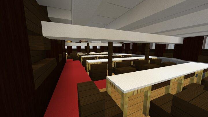 II. Class Dining Saloon