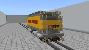 Union Pacific Auxiliary Tender: Pre 2006 Version Minecraft Map & Project