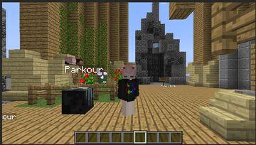 Central Minigames com 3 minigames disponíveis entre eles Parkour, Ache o botão e Dropper!   Central Minigames with 3 minigames available among them Parkour, Find the button and Dropper! Minecraft Map & Project