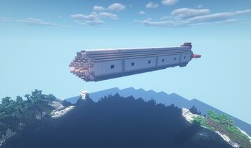Movecraft Airship - Dauphine-class Corvette Minecraft Map & Project