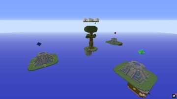 Bedwars Jungle Minecraft Map & Project