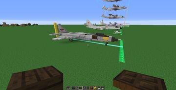 Xian JH-7 (1.5:1) Minecraft Map & Project