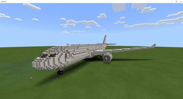 Airbus A330 Final Result Minecraft Map & Project