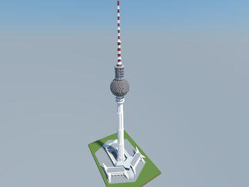 Fernsehturm, Berlin, Germany Minecraft Map & Project
