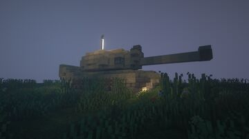 Tank Minecraft Map & Project