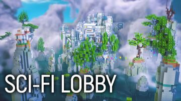 Sci-fi Lobby | FREE DOWNLOAD Minecraft Map & Project