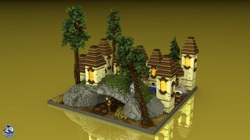 KOTH - Medieval Theme Minecraft Map & Project