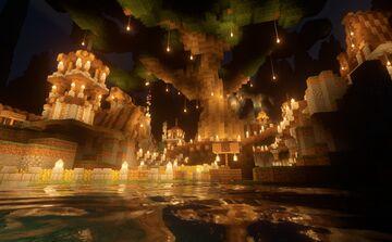 Ravine Village COMPLETE Minecraft Map & Project