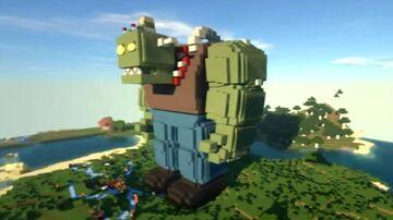 Minecraft Plants vs Zombies 3 ZOMBOSS PVZ GIGANTE Minecraft Map & Project