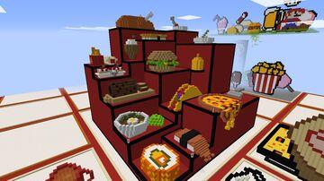 Food Festival Build Battle   Fruitlab Server Event Minecraft Map & Project