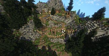 Bilegulch Mine (Skyrim TES) Minecraft Map & Project