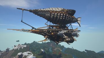Fantasy Airship (world download) Minecraft Map & Project