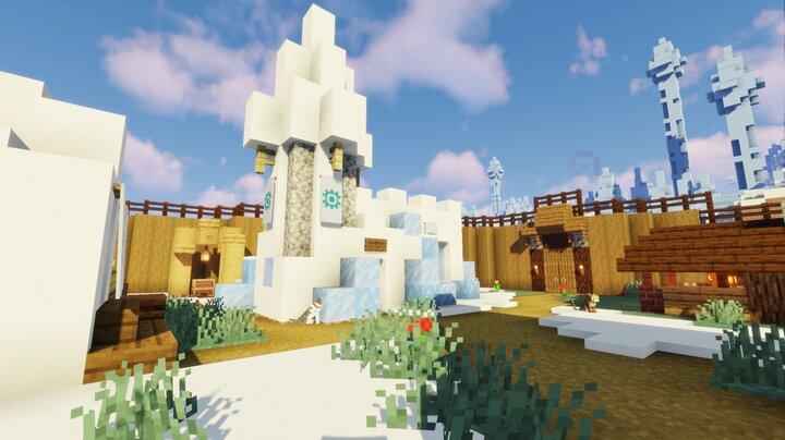 Allix's snow castle