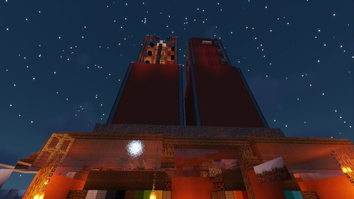The Wool Towers - MrFort's own production design
