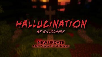 Hallucination [MULTIPLAYER] (1-2 PLAYERS ONLY) Minecraft Map & Project