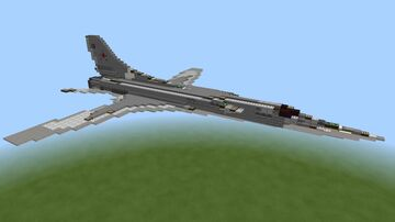 Tupolev TU-22M3 Backfire Minecraft Map & Project