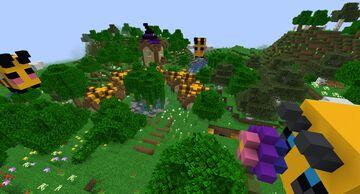 Flowery Village Minecraft Map & Project